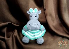 Бегемошка Грейс  #planetoftoys #вдохновение #рукоделие #идея #игрушка #вязание