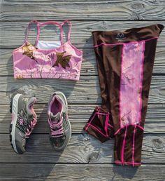 New Realtree Xtra Pink Camo Activewear Sportswear