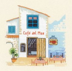 Вышивка Cafe del Mar (Riolis)