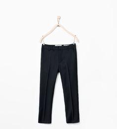 ZARA - KIDS - Basic suit trousers