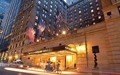 The facade of the Intercontinental New York Barclay hotel (Photo: Barclay Hotels)