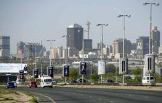 Johannesburg city skyline Johannesburg Africa, Seattle Skyline, New York Skyline, Travel, Viajes, Destinations, Traveling, Trips