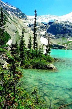 Turquoise Waters of Upper Joffrey Lake north of Whistler, B.C (and 2 hours away from Vancouver! Cool Landscapes, Beautiful Landscapes, Dream Vacations, Vacation Spots, Whistler, Places To Travel, Places To See, Beautiful World, Beautiful Places