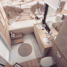 Bath room design small chic toilets ideas for 2019 Beige Bathroom, Modern Bathroom, Small Bathroom, Bathroom Styling, Bathroom Interior Design, Interior Styling, Interior Decorating, House Design, Home Decor