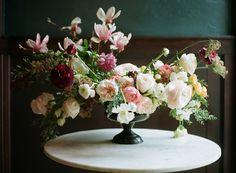Dramatic floral wedding inspiration