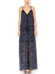 Silk Printed Maxi Dress by Lamb on sale now on #Gilt. #Style #fashion
