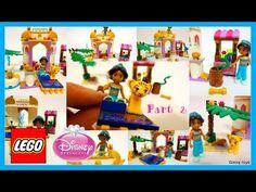 Lego DisneyTM Princess 41061 Jasmine's Exotic Palace - Unboxing, Speed B...
