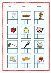 English Worksheet Phonics Animals  Moza    Phonics