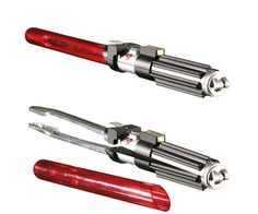 Use the Force to ensure all your meats are cooked to perfection by using these lightsaber BBQ tongs. These intergalactic tongs feature a lightsaber inspired...