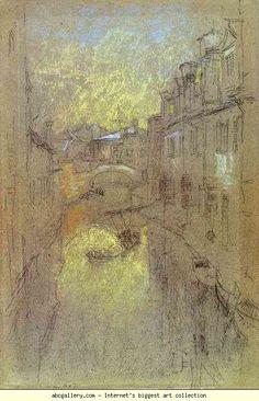 James Abbott McNeill Whistler. Winter Evening