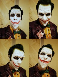 Boo to You !!! Joker arkham asylum cosplay
