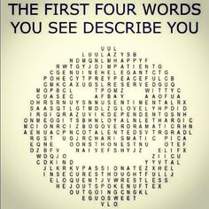 SO COOL. Try it. I got naive, genuine,elegant and peaceful.