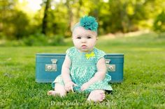 6 Month Old Picture Ideas   ... Passion (Dana Gualco Photography) / 6 month old photo ideas. Baby girl