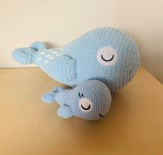 Free amigurumi crochet pattern for whales Chunky Crochet, Chunky Yarn, Crochet Yarn, Crochet Toys, Easy Crochet Animals, Crochet For Kids, Crochet Whale, Whale Pattern, Yarn Organization