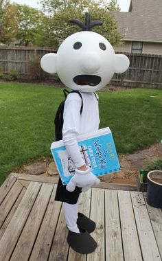 Greg from Diary of a Wimpy Kid | Community Post: 24 Awesome Kids' Book-Inspired Halloween Costumes For Grownups