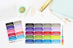 Hydrate Planner Stickers | Hydrate Stickers | Hydration Planner Stickers by TheCleverDesign on Etsy