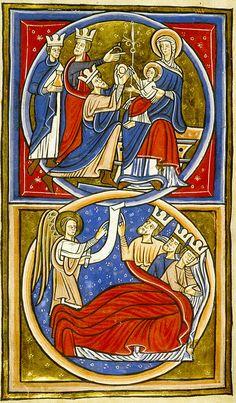 Adoration & dream of the three Magi | da petrus.agricola