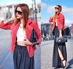 LEATHER: MY SECOND SKIN (by Andrea Gomez) http://lookbook.nu/look/4589573-LEATHER-MY-SECOND-SKIN