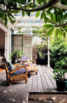 Cottage Backyard #backyard #outdoorspaces #decorhomeideas Patio Balcony Ideas, Outdoor Patio Designs, Outdoor Spaces, Outdoor Living, Outdoor Decor, Patio Ideas, Landscaping Ideas, Backyard Ideas, Outdoor Balcony