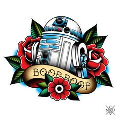 traditional star wars tattoo | Tumblr