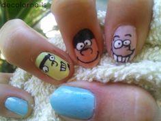 Ed, Edd n Eddy nail art