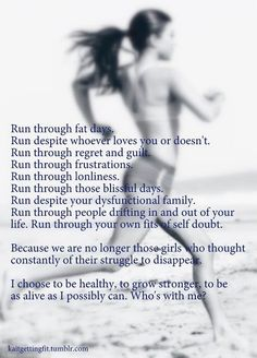 start running.
