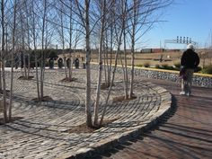Mom, Dad, and I visited the recently completed Railroad Park in downtown Birmingham on a sunny weekend day. Weekend Days, Birmingham Alabama, Railroad Tracks, Places To Go, Deck, Outdoor Decor, Spaces, Usa, Google Search