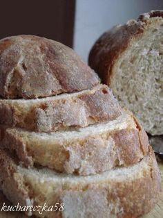 Chleb pszenno żytni na zakwasie - ten robiłam, smakuje jak ciabatta