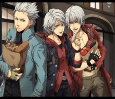 Vergil, Nero, and Dante