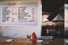 Cassell's Hamburgers restaurant branding