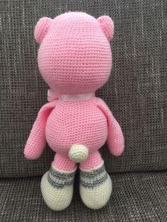 crochet haken amigurumi big bear grote beer