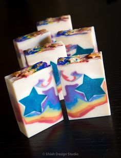Shooting Star Soap.