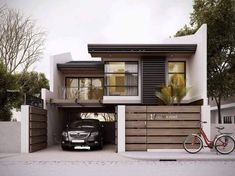 Designs/ house layouts, building a house, design rumah, house essentials, t Home Modern, Modern House Plans, Minimalist House Design, Modern House Design, House Essentials, House Front Design, Facade Design, Design Studio, Facade House