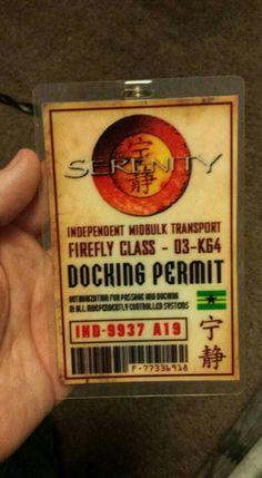 Firefly  Class Docking Permit