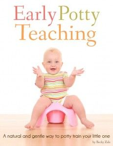 I love this potty training method. It is low stress for everyone, and your children are completely potty trained before their 2nd birthday!