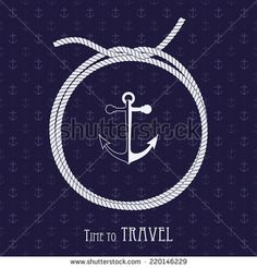 Stock Images similar to ID 229279765 - seamless pattern with marine...