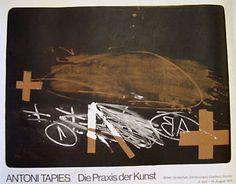 "Antoni Tápies: ""A effacé"" Plakat - O. Auction, Ebay, Artwork, Artist, Art Print, Poster, Work Of Art, Artists"