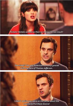 I think I just appreciate this because I am a history major. But also, love this show.