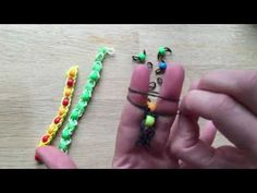 Pony Bead Loom Band Patterns - Finger Looming - Red Ted Art's Blog