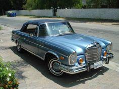 Mercedes convertible