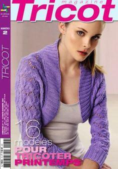 Tricot Mag N° 2  Magazine pratique sur le tricot et ce qui s'y rapporte