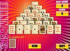 ПИРАМИДА 13 — играть онлайн бесплатно