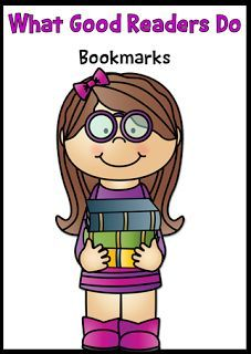 FREE- Reminders for What Good Readers Do- Bookmarks #reading