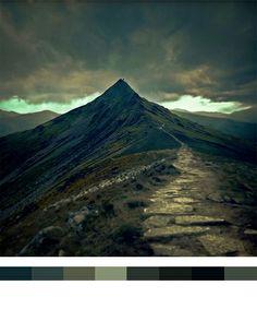 cold mountain colour tone