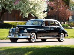 1946 Packard Custom Super-8. Seven-passenger Limousine with jump seats