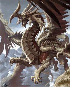 Dragón escamoso