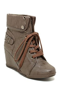 Agneta Wedge Sneaker on HauteLook Falling in love with this style...