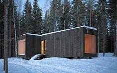 Dream snow cabin