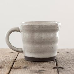 These Speckled Terracotta Cups are rustic artisan & just the right size for a brew. As these mugs are hand finished, each one may vary very slightly.