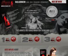 Web tasarım | Tek Sayfa Web Sitesi Tasarımı